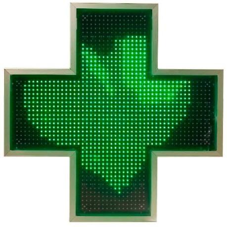 Rótulos de cruces de farmacia led en Oviedo